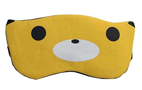 Adjustable Sleep Eye Mask Yellow Color