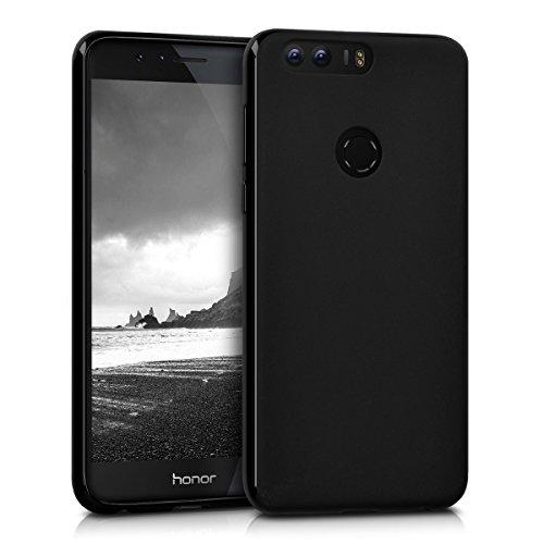 kwmobile Huawei Honor 8 / Honor 8 Premium Hülle - Handyhülle für Huawei Honor 8 / Honor 8 Premium - Handy Case in Schwarz matt