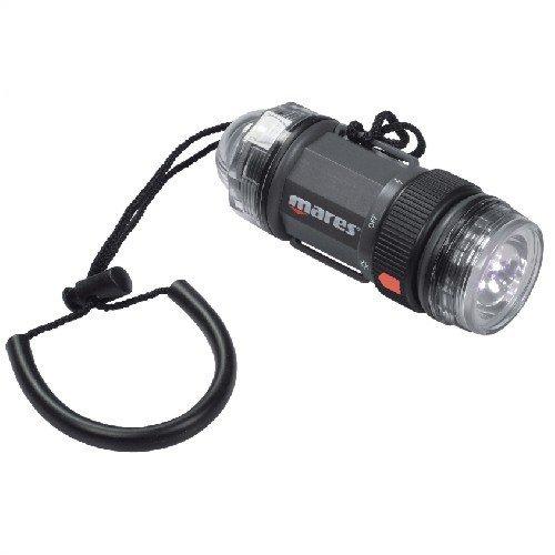 Mares Erwachsene Torch Strobe Beam w/LED Taschenlampe, Schwarz, BX