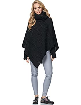 Merry Style Poncho para Mujer MSSE0038