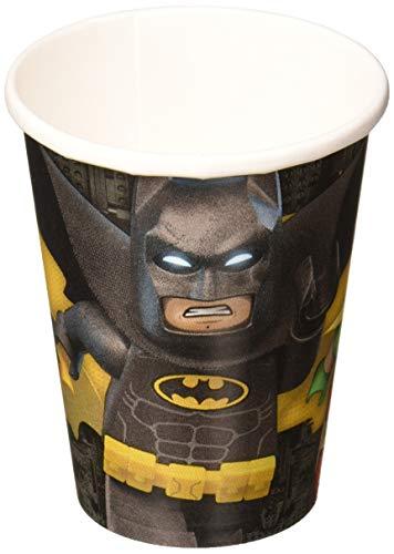 Amscan International DC Comics Lego Batman Pappbecher, 266ml, 8Stück -