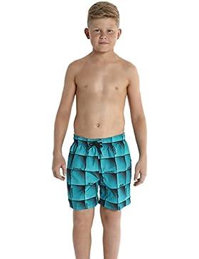 Speedo Jungen Freizeit-Watershorts mit Allover-Print 15 zoll