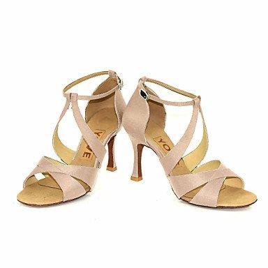XIAMUO Anpassbare Frauen Beruf Tanz Schuhe Gelb