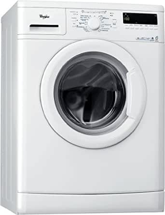 whirlpool awo 6448 machine laver chargement frontal a b 1400 tr min 6 kg blanc clean. Black Bedroom Furniture Sets. Home Design Ideas