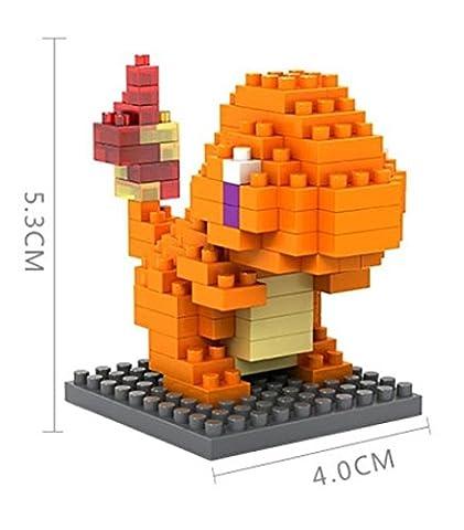 VOYTO-Pokemon Charmander Diamond DIY Micro Blocks Figure Model Series Age 14+ (Box Included Sent Flat) Top Quality