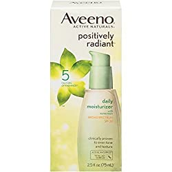 Aveeno Positively Radiant Daily Moisturizer with Broad Spectrum SPF 30, 2.5 Fl. Oz