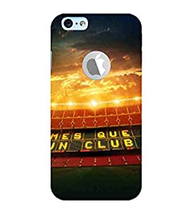 For Apple iPhone 6S :: Apple iPhone 6S ( Logocut ) sports stadium ( sports stadium, stadium, beautiful stadium, sports ) Printed Designer Back Case Cover By CHAPLOOS