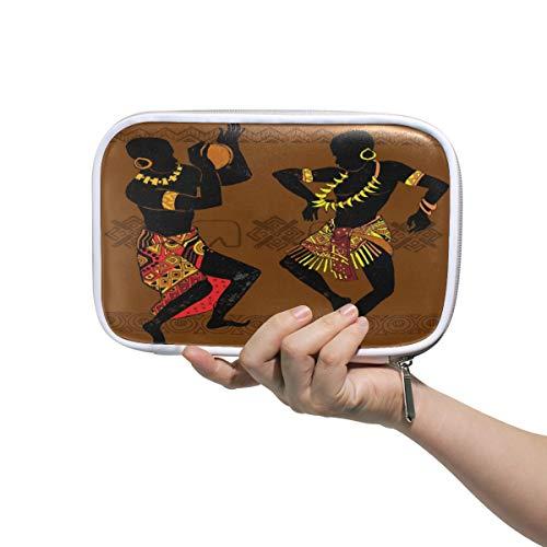 Funnyy Dance Indian Aborigines Federmäppchen, multifunktionaler Reißverschluss, Reisetasche, Make-up-Pinsel, Kosmetiktasche für Kinder, Studium, Frau, Männer, Arbeit