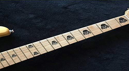 Warriors Galaxy Black Fret Markers Inlay Stickers pegatinas Guitar & Bass Diapason