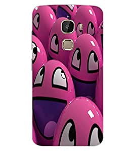 ColourCraft Smilies Design Back Case Cover for LeEco Le 2 Pro