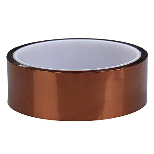 Hochtemperatur Klebeband - SODIAL(R)Hohe Temperature Heat Resistant Dedicated Klebeband Gold (30mm)