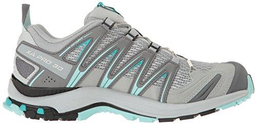 Salomon  XA PRO 3D, Chaussures de Trail femme Gris (Quarry/pearl Blue/aruba Blue)