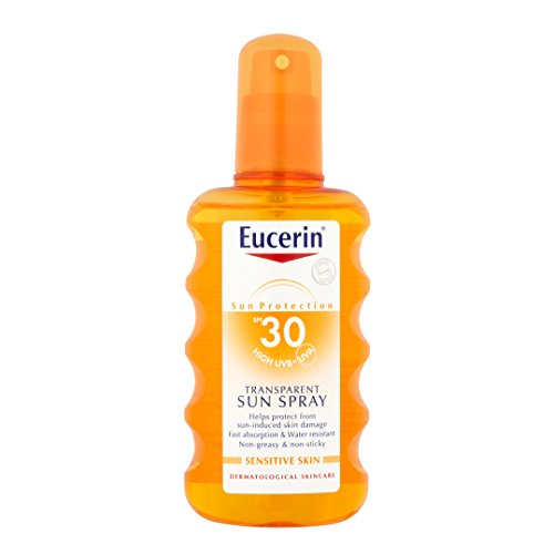 Eucerin Sensitive Protect Sun Spray Transparent LSF 30, 200 ml Spray