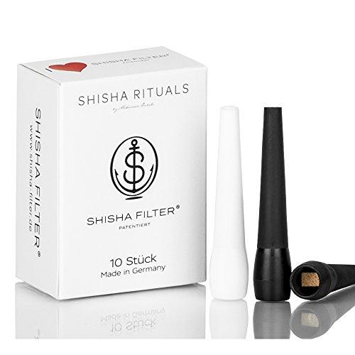 ShiSHa Filter Hygienemundstücke 10 er Packung