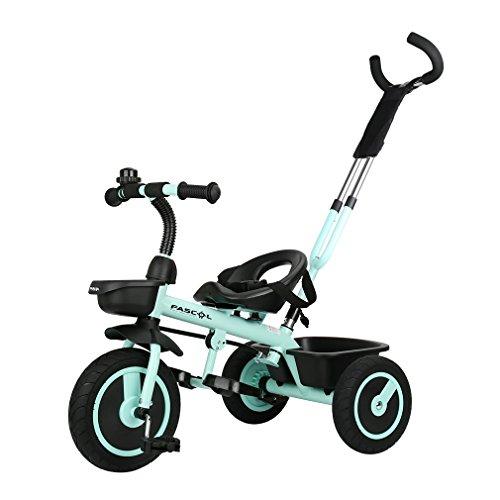 Fascol Triciclo con Mango Trike Smart Bici para...