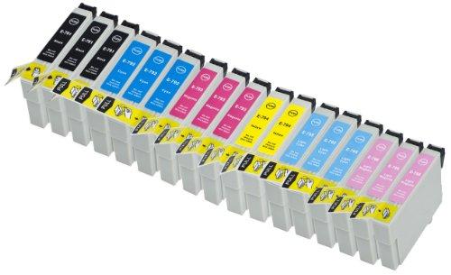 18 Multipack alta capacidad Epson T0797 Cartuchos