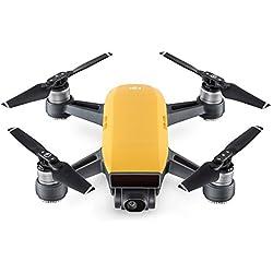 DJI Spark - Dron cuadricóptero (full hd, 12 mpx, 50 km/h, 16 minutos), Amarillo