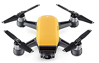 DJI Spark - Mini-Drohne mit max. Geschwindigkeit von 50 km/h, bis zu 2 km Übertragungsreichweite, 1080p Videos mit 30 fps und 12 Megapixel Fotos - Gelb (B072M1NSVV) | Amazon price tracker / tracking, Amazon price history charts, Amazon price watches, Amazon price drop alerts