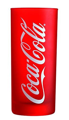 Luminarc Coca Cola Frozen 7276020 Glas, hoch, 270ml, Weiß / Rot, 6Stück