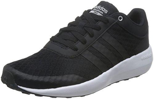 adidas Cf Race W, Chaussures de sport femme Noir (Negbas / Negbas / Plamet)