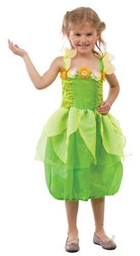 ün Pixie Fee Prinzessin TV Film Cartoon büchertag Woche Halloween Kostüm Kleid Outfit 5-12 Jahre - Grün, 5-6 Years (9-film Halloween-kostüm)
