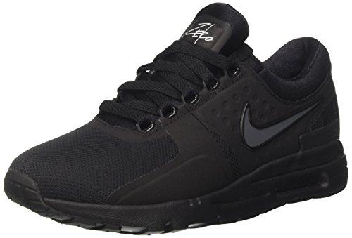 Nike Damen Air Max Zero Sneaker, Schwarz (Black/Black Dark Grey White), 39 EU