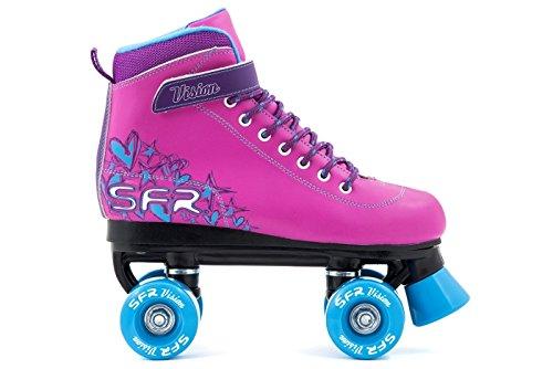 SFR Vision II Kinder Rollschuhe – Rosa/Blau - 30.5