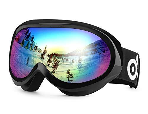 Odoland Gafas de Esquí para Niños de 8-16 años