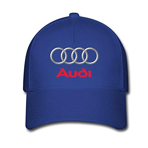 Hittings Unisex Audi Logo Baseball Caps Hat One Size Blue par