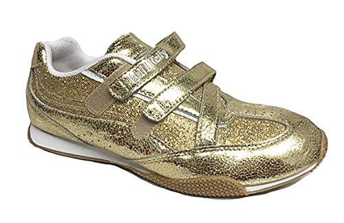 Lelli Kelly - Zapatos de Cuero para niños, Color Dorado, Talla 37