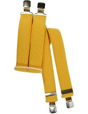 Bretelle Elasticizzata per Bambini 5-12 Anni, 'X' Clip design / Plastica