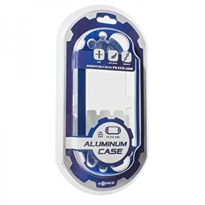 Tomee Aluminum Case Cover (Ice Blue) - Sony PS Vita 2000
