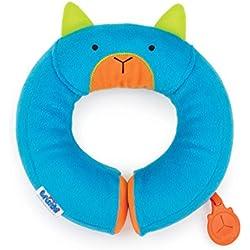 Trunki Oreiller de Voyage pour Enfants - Yondi PETIT Bert (Bleu)