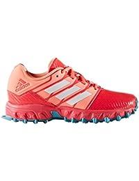 Junior Hockey Shoes - Shock Red