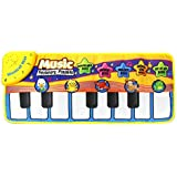 Orland Musical Mat,Piano Play Mat Baby Early Education Music Piano Keyboard Carpet Animal Blanket Touch Play Safety Learn Singing Funny Toy For Kids (Multicolor)