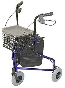 Aidapt Blue Aluminium Tri Walker (Eligible for VAT relief in the UK)