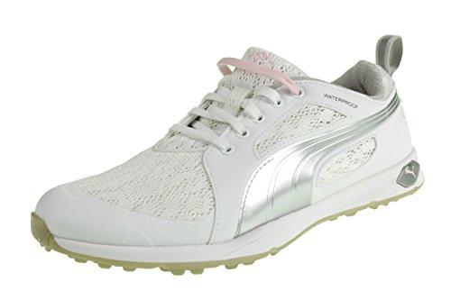 Puma Puma Biofly Mesh Wmns Ladies Golfschuhe Shoe Weiss 188673 01