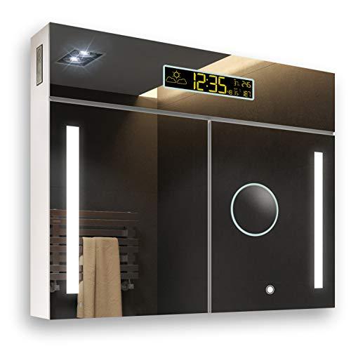FORAM Personalizar Armario con Espejo de baño e Iluminado LED Mueble Fabricado A++