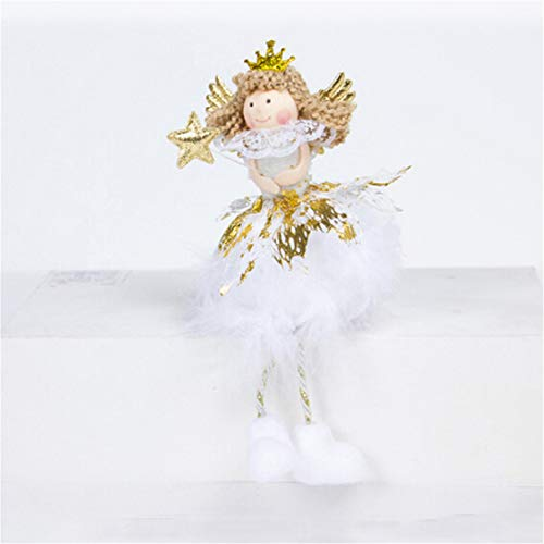 YSINFOD Engel Weihnachtsverzierung Nette Puppe Desktop Dekoration Weihnachten Neujahr Home Party Dekoration Kinder Mädchen Geschenke