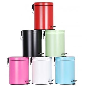 Komplett Neu 5 Liter Abfalleimer - Treteimer - Badeimer - Mülleimer - Eimer  AW13