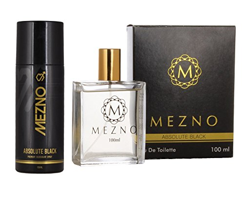 Mezno-Combo-of-Absolute-Black-Perfume-100ml-Deodorant-150ml