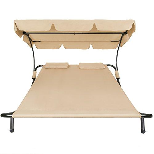 TecTake-2-places-bain-de-soleil-chaise-longue-de-jardin-transat-avec-pare-soleil-2-coussins-diverses-couleurs-au-choix