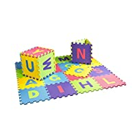 26 pcs 30cm x 30cm English Alphabet Mat Baby EVA Foam Playmat Kids Foam Floor Play Puzzle Mat Develop Crawling Rug Children Carpet Tiles Activity Toy