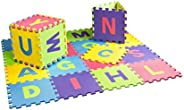 26 pcs 30cm x 30cm English Alphabet Mat Baby EVA Foam Playmat Kids Foam Floor Play Puzzle Mat Develop Crawling Rug Children