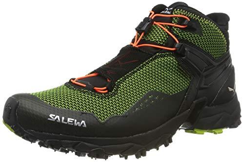 SALEWA Ms Ultra Flex Mid GTX, Scarpe da Trail Running Uomo, Verde (Cactus/Fluo Orange 5326), 44 EU