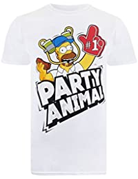 Simpson Party Time, T-Shirt Homme