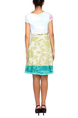 DESIGUAL - Robe pour Femme LIZ REP Blanc