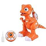 RC Dinosaure Jouet, RC Détection Tactile Tyrannosaure Rex Spray RC Dinosaure Modèle Jouet Cadeau pour Enfants