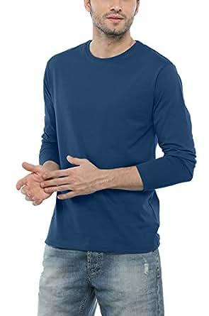 Bewakoof Men's Cotton T-Shirt_Ocean Blue_2XL