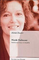 Nicole Malinconi : L'écriture au risque de la perte